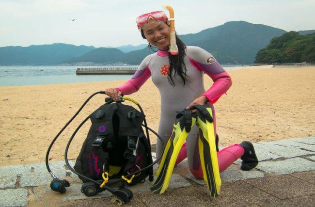 PADI Scuba Diver – Curso de Mergulho No Japão