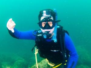 Transformação de vida após mergulhar…