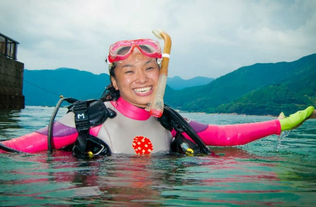 Curso De Mergulho No Japão
