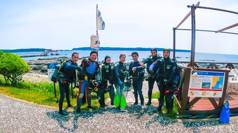 kushimoto diving park