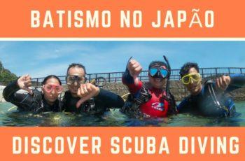 Batismo De Mergulho No Japão