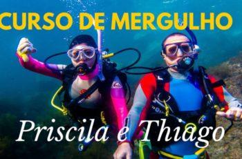 Curso de Mergulho da Priscila e Thiago