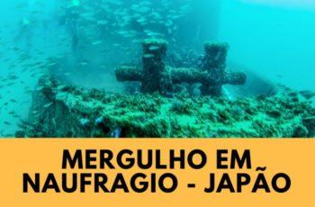 Mergulho em naufrágio no Japão pela Coral Diving
