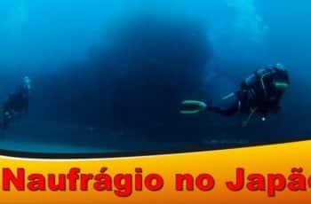 Mergulho No Mais Famoso Naufrágio No Japão Na Cidade De Shirahama, Wakayama-Ken